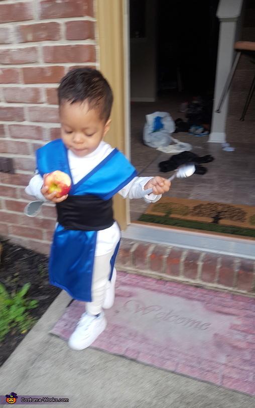 Raiden Mortal Kombat Costume for Boys