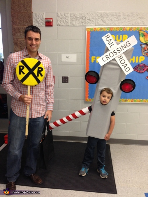 Railroad Crossing Signal Costume