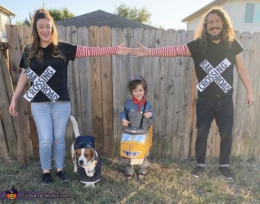 Railroad Family Costume