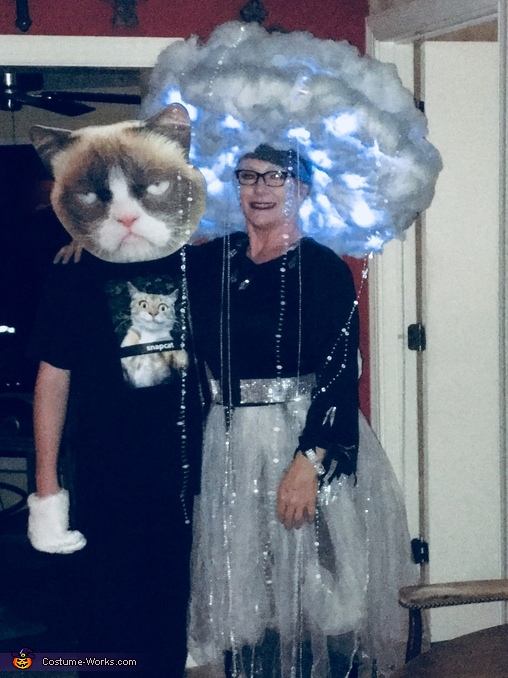 Chaz and I, Rain Cloud and Lightning Costume