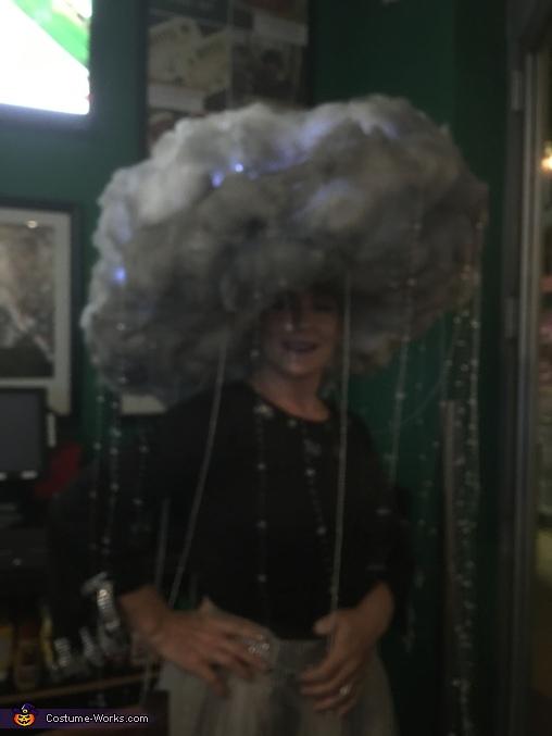 Rain Cloud and Lightning Homemade Costume