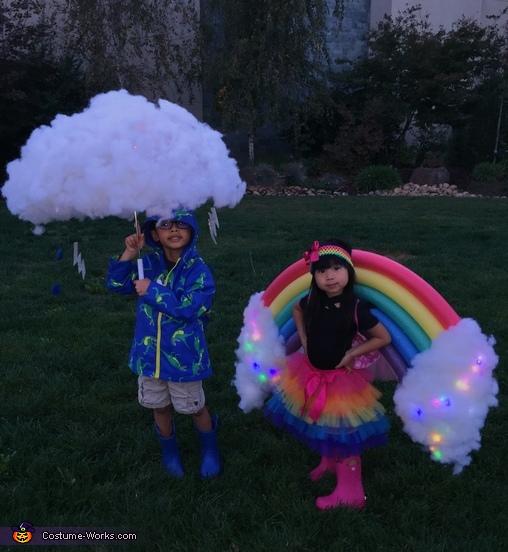 Rainbow and Storm Costume