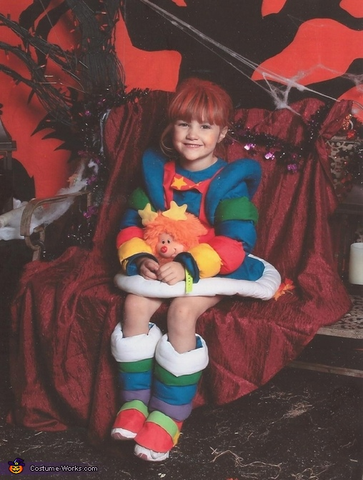 Rainbow Brite with OJ sprite Rainbow Brite Costume  sc 1 st  Costume Works & Rainbow Brite Costume for Girls - Photo 2/2