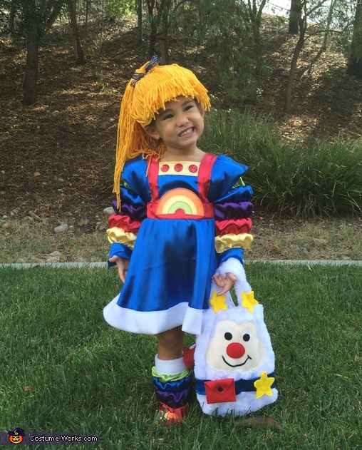 Rainbow Brite Homemade Costume
