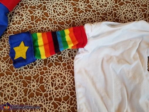 Bodice, Rainbow Brite Costume