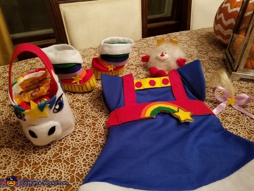 Costume, Rainbow Brite Costume
