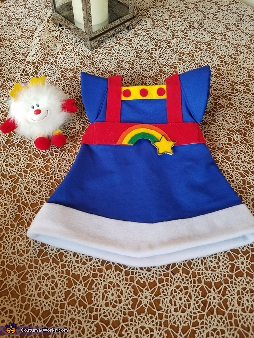 Dress Front, Rainbow Brite Costume