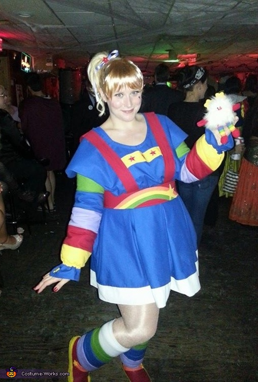 Rainbow brite adult costumes