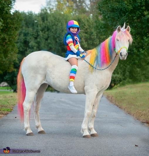 Rainbow Brite and Starlite Costume