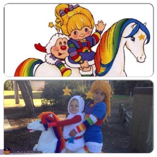Rainbow Brite and Twink Costume