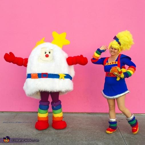 DIY Rainbow Brite and Twink Costumes