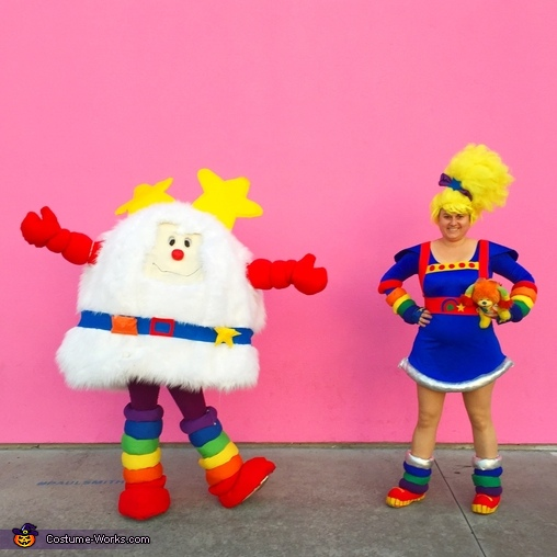 DIY Rainbow Brite and Twink Costumes