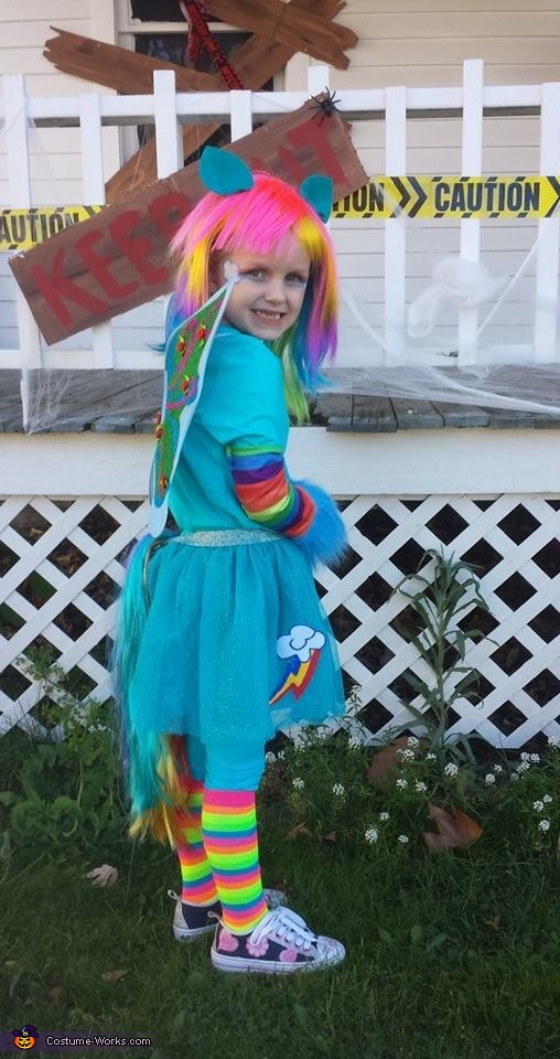 My Little Pony Rainbow Dash Costume