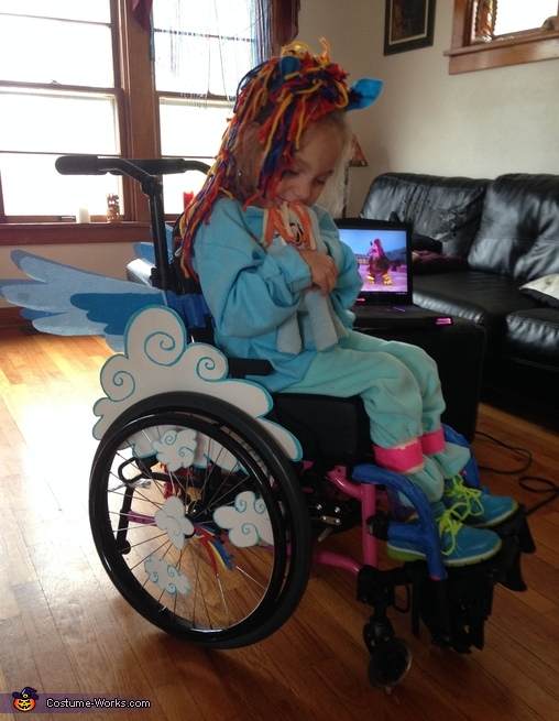 Rainbow Dash Homemade Costume