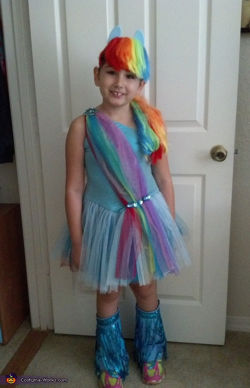Rainbow Dash Costume