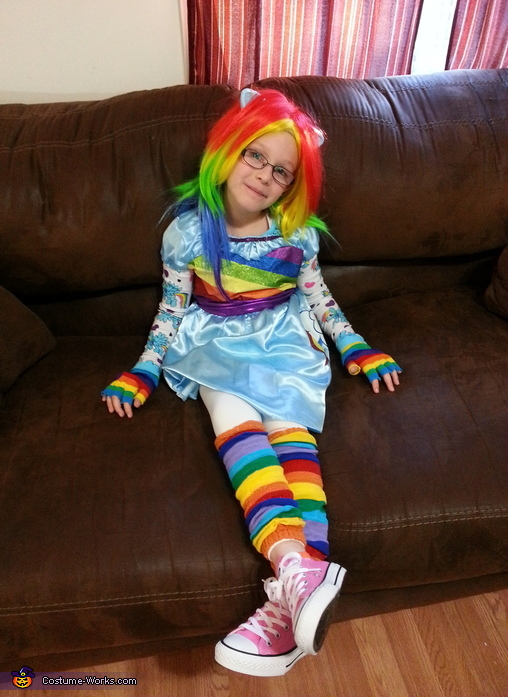 Rainbow Dash Equestria Doll Costume