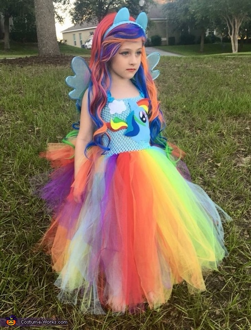 Rainbow Dash Equestria Girl Costume