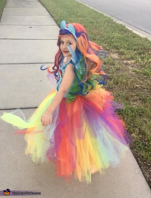 Someone felt like a true Equestria Girl Princess ❤️, Rainbow Dash Equestria Girl Costume