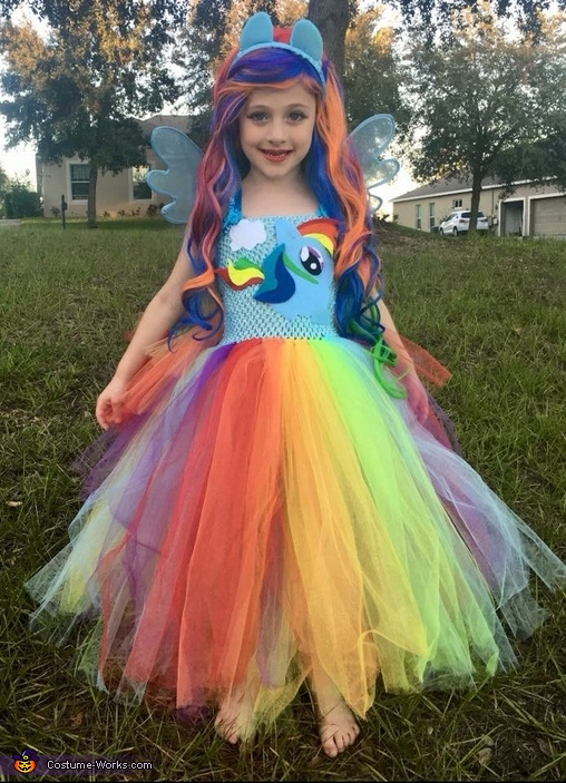All smiles 💓, Rainbow Dash Equestria Girl Costume