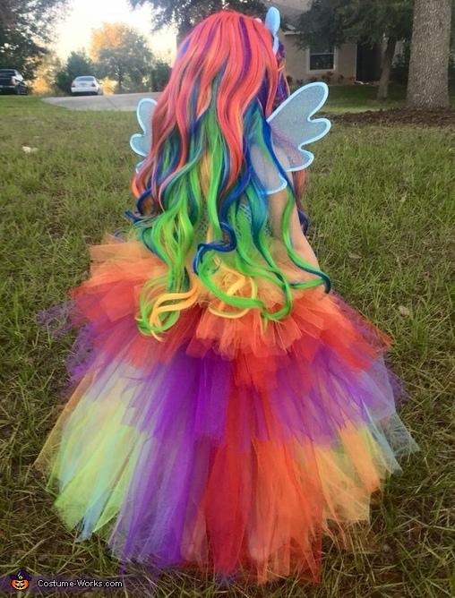Rainbow wig 🌈🌈🌈, Rainbow Dash Equestria Girl Costume