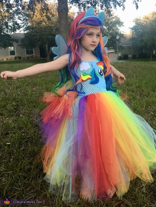 Ready to fly 🌈, Rainbow Dash Equestria Girl Costume