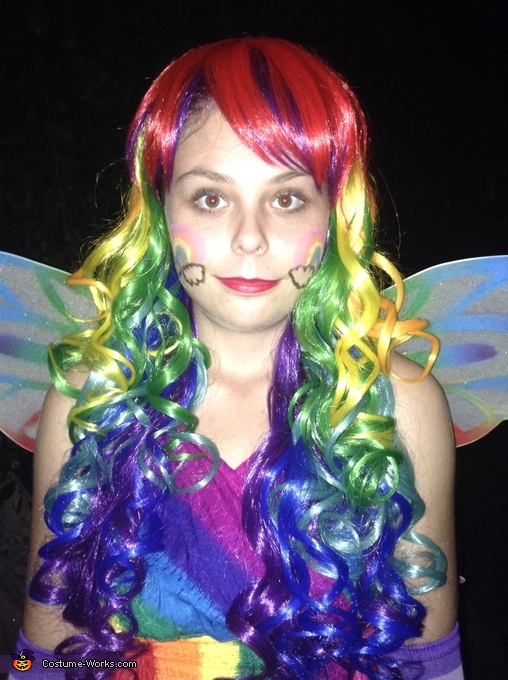 I love myself! ;), Rainbow Fairy Costume