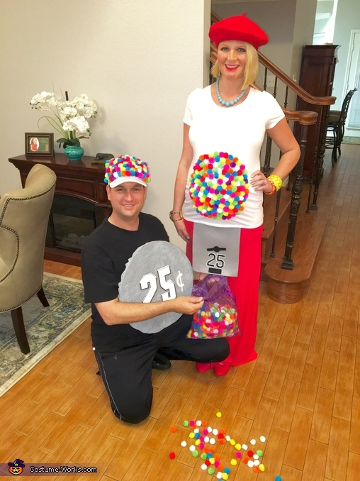 Rainbow Gumball Machine Costume