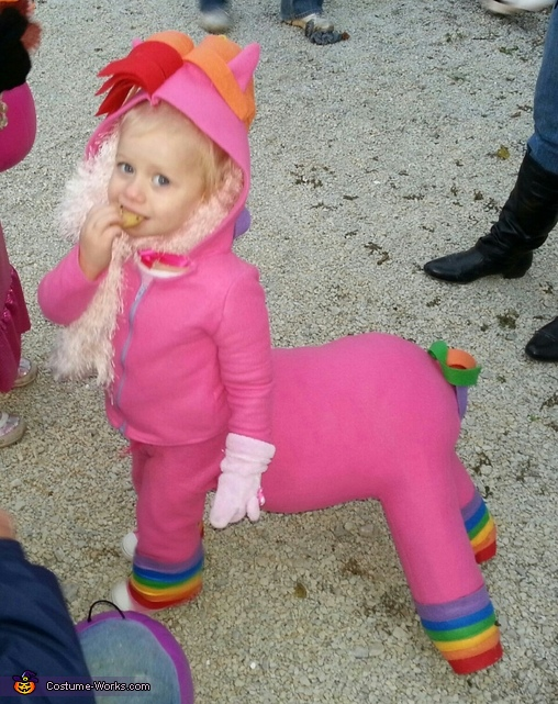 50 creative diy baby costume ideas diy baby costume ideas rainbow horse baby costume solutioingenieria Image collections
