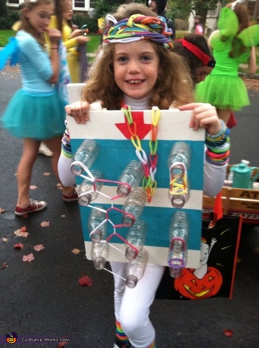 diy rainbow loom costume
