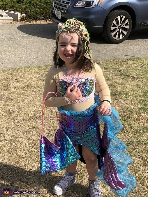 Rainbow Princess Mermaid Costume