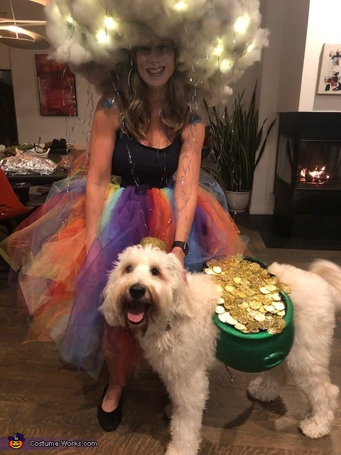 Rainbow Storm with the Pot of Gold Costume