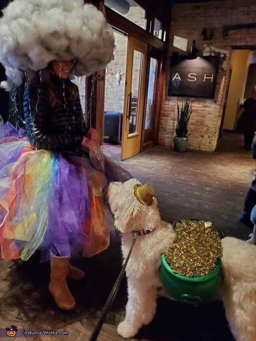 Aria and the storm, Rainbow Storm with the Pot of Gold Costume