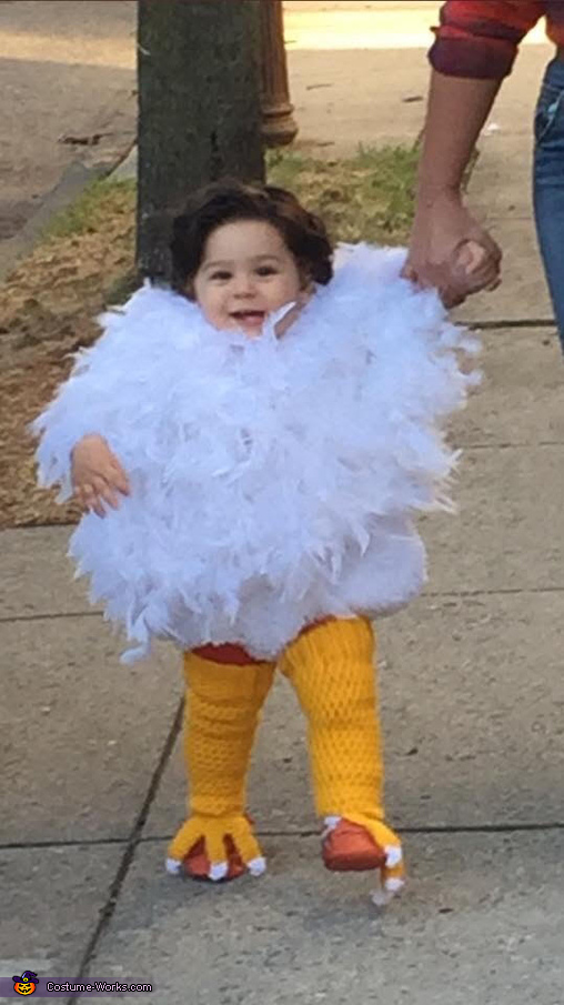 happy rooster, Raising the Rooster Costume