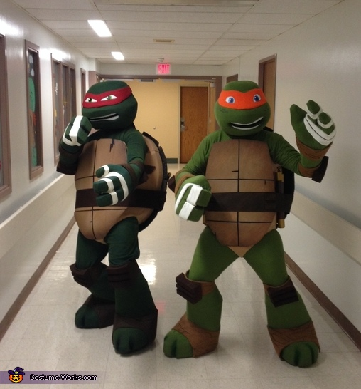 TMNT Raph & Mikey Costume