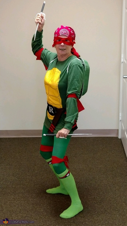 Raphael Teenage Mutant Ninja Turtle Costume