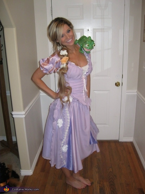 Rapunzel and Flynn Rider Homemade Costume