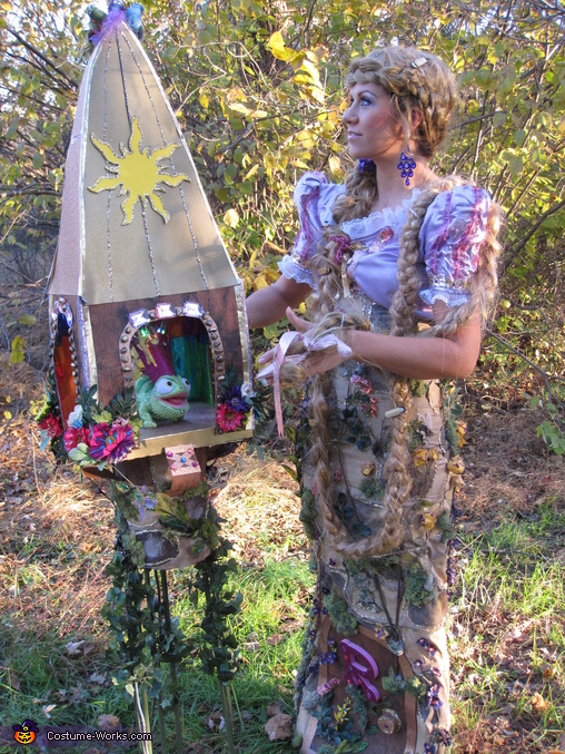 Rapunzel in Her Tower Handmade Costume