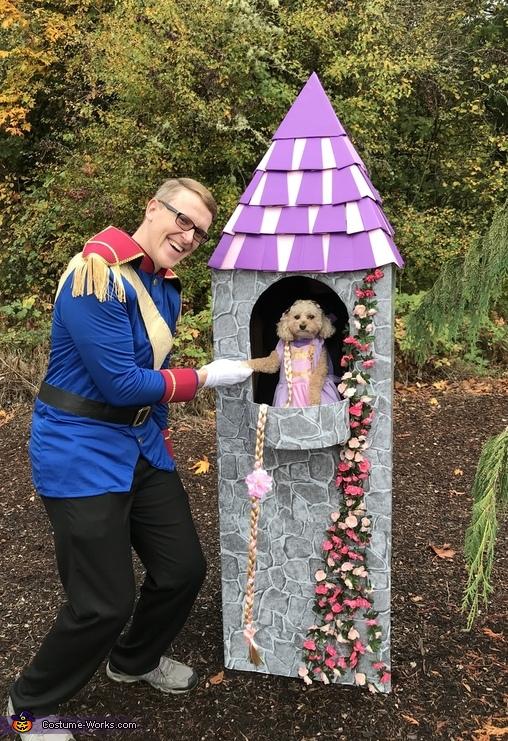 Rapunzel in her Tower Costume