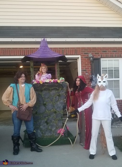 Rapunzel's Tower Costume