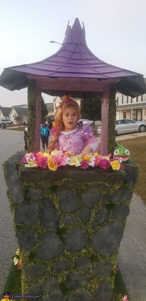 Rapunzel's Tower Homemade Costume