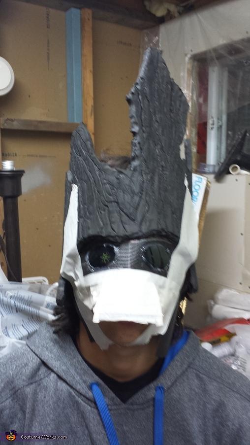First try, Rasta Groot Costume