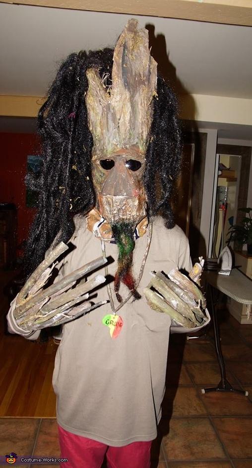 Rasta Groot Costume