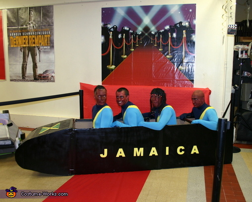 Rasta Rockett Group Costume