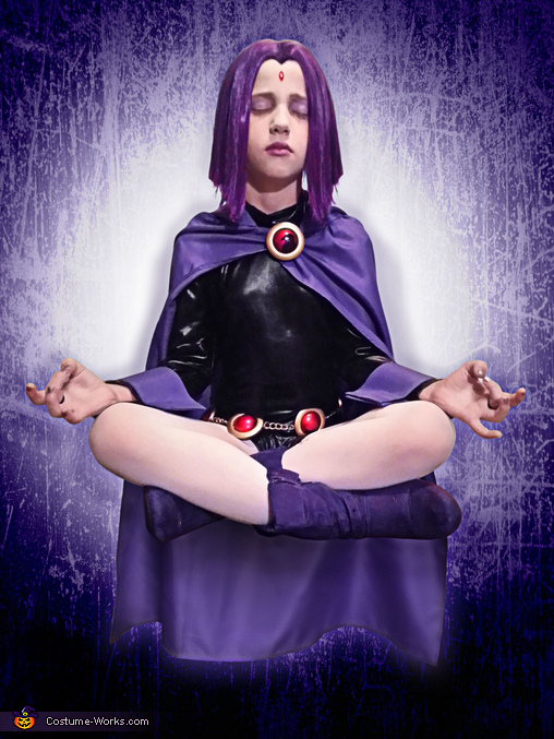 Raven from Teen Titans Homemade Costume