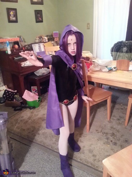 Raven from Teen Titans Homemade Costume