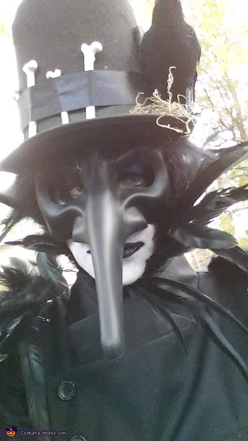 Raven King Costume