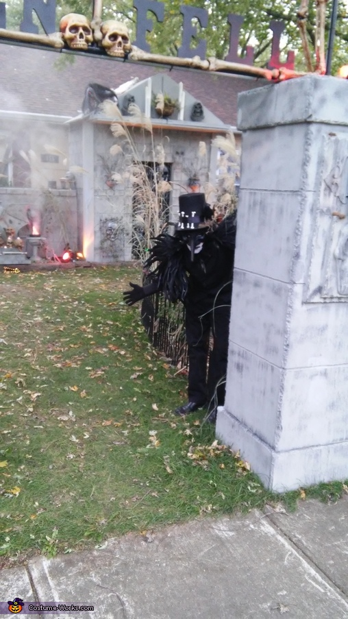 Raven King Homemade Costume