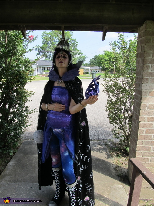 Can we go shopping now, Raven Queen Costume