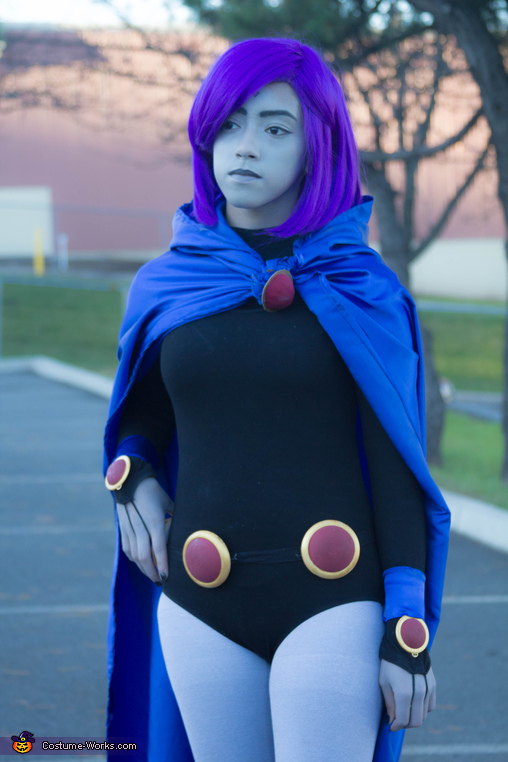 Raven Teen Titans Go Homemade Costume