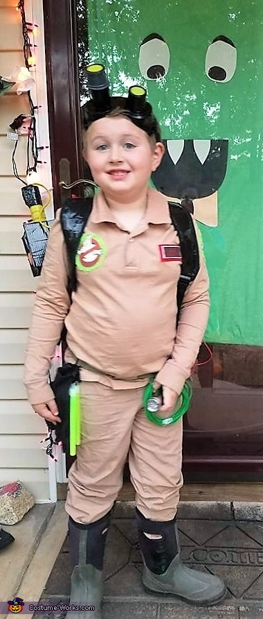 Ray Stanz from Ghostbusters Homemade Costume